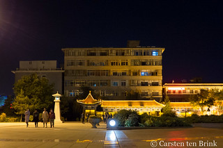 Zhangye night