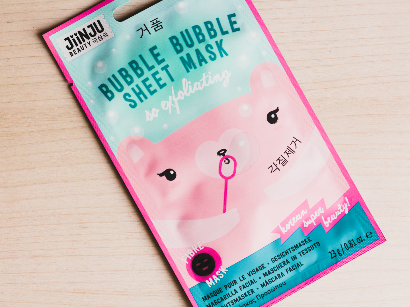 Bubble Bubble Sheet Mask