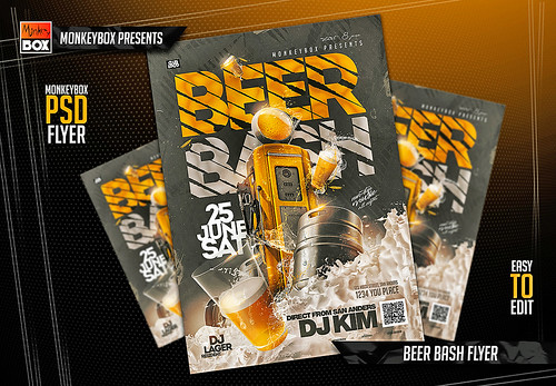Beer Bash Flyer