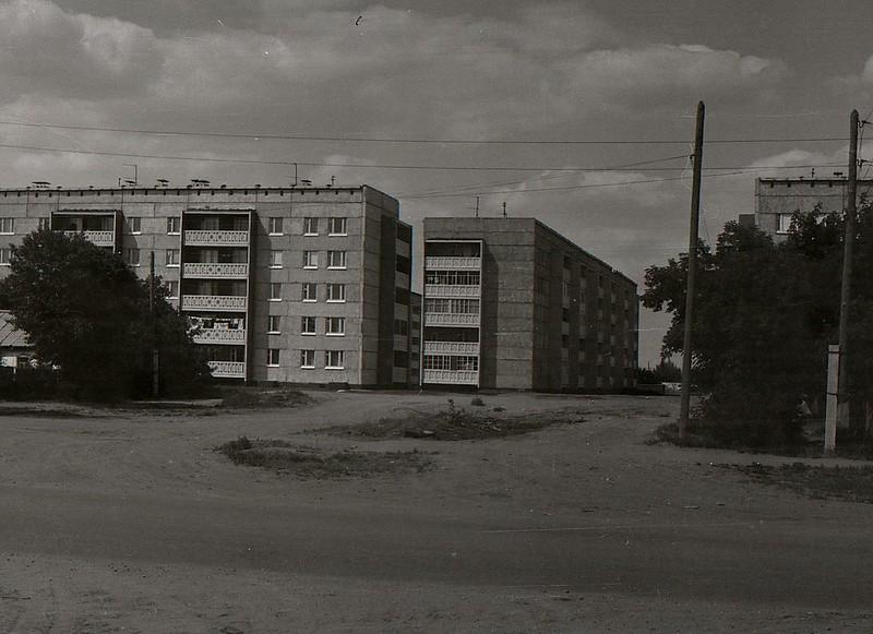 Славгород, микрорайон № 1.