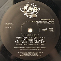 THE FAB 5:BLAH(LABEL SIDE-B)