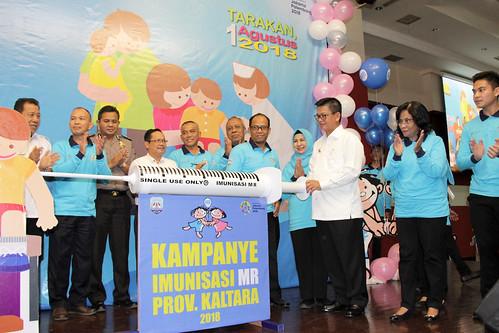 Pencanangan Kampanye Imunisasi MR Prov. Kaltara