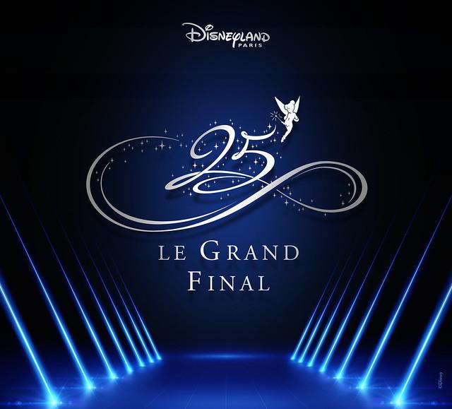 PROGRAMME  Le Grand Final du 25ème Anniversaire de Disneyland Paris