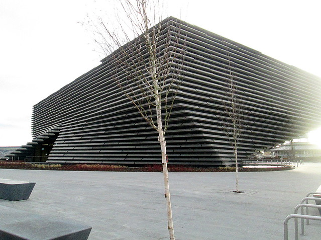 V&A Dundee from Northeast