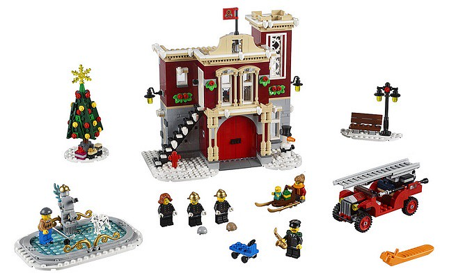 10263 Winter Village Fire Station 3