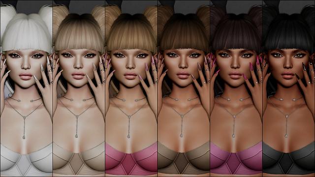 amara beauty - PP - Clara Skin - LELUTKA_tones