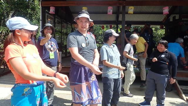 R.U.M. volunteers at Ah Mah's Drinkstall launch, Sep 2018