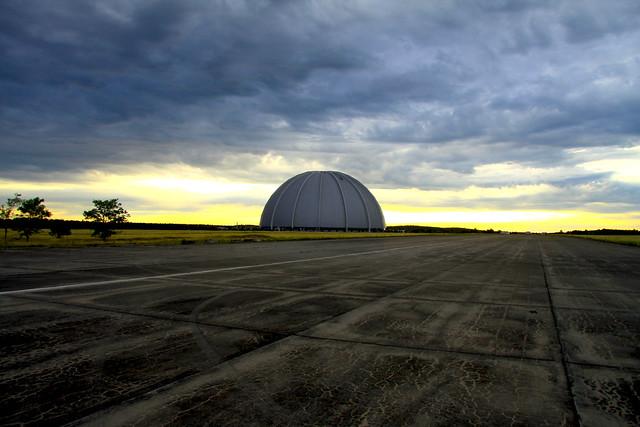 Massive size of the hangar