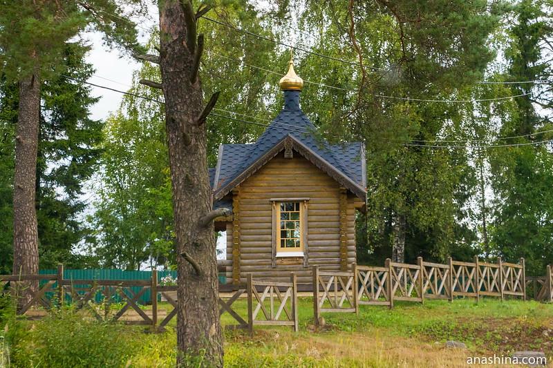 Часовня Казанской иконы Божией Матери в Хюмпёля близ Сортавалы