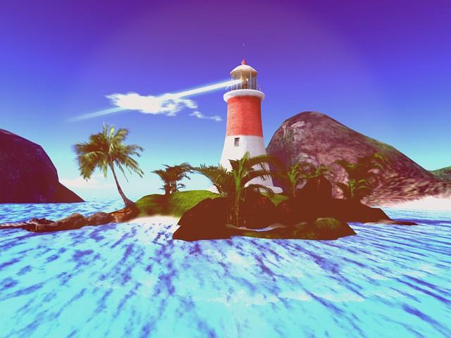 Anahita Land of Kangavar -  Line Breeze Lighthouse