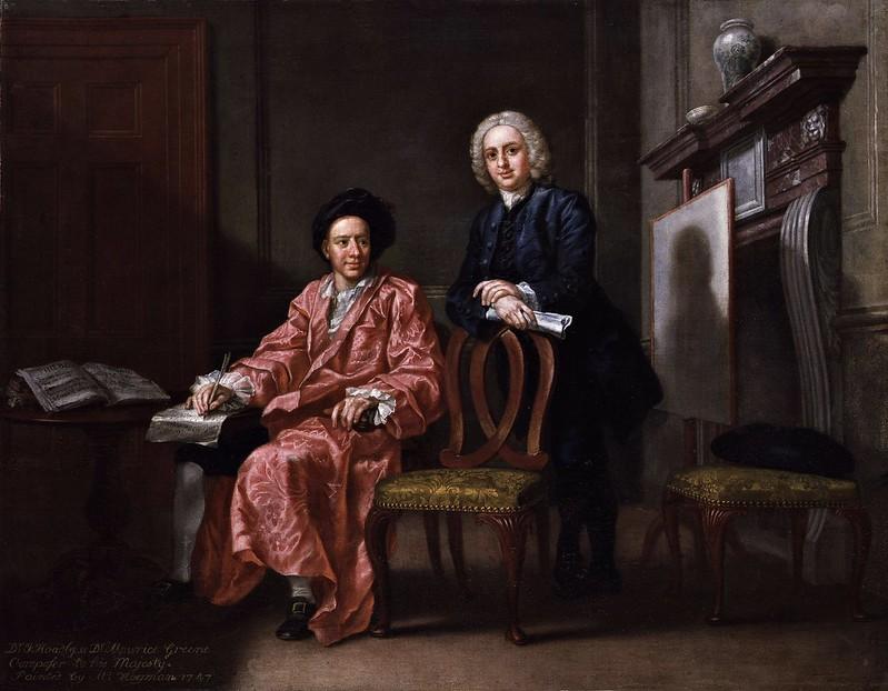 Francis Hayman - Maurice Greene & John Hoadly