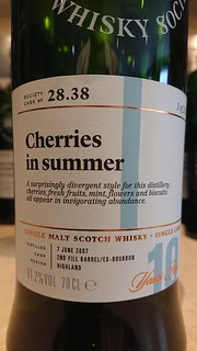 SMWS 28.38 - Cherries in summer