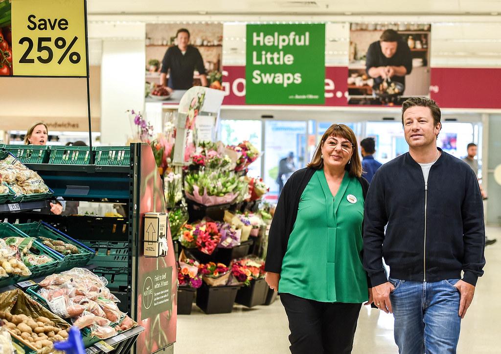 Jamie Oliver Visits Hammersmith Tesco