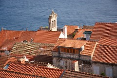 Rooftop panorama of Korčula town (Hrvatska 2018)