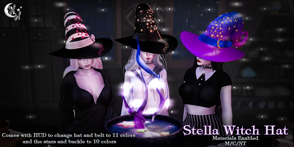 *NW* Stella Witch Hat