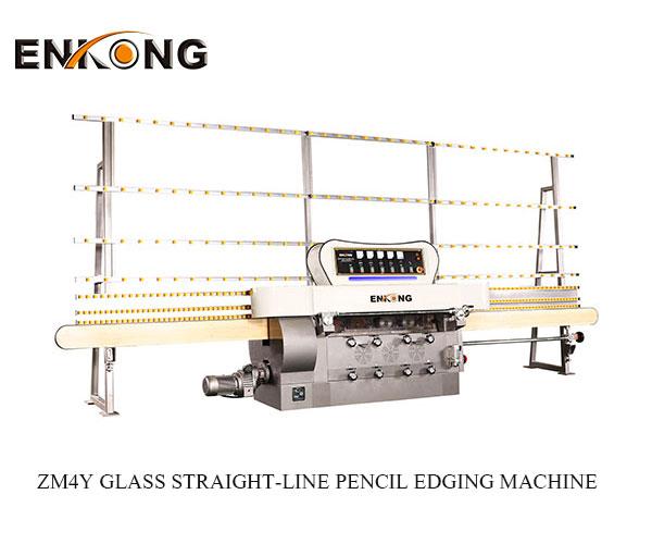 glass straight line pencil edging machine