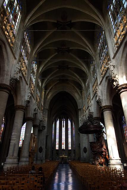 Eglise Notre Dame du Sablon, Brussels, Aug 18