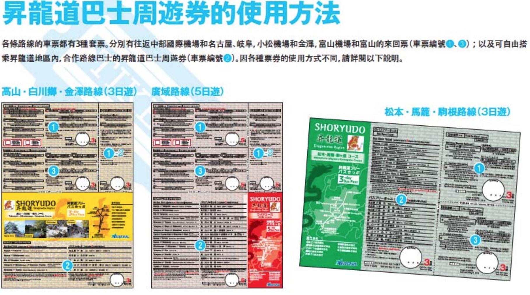 昇龍道高速巴士票卷5