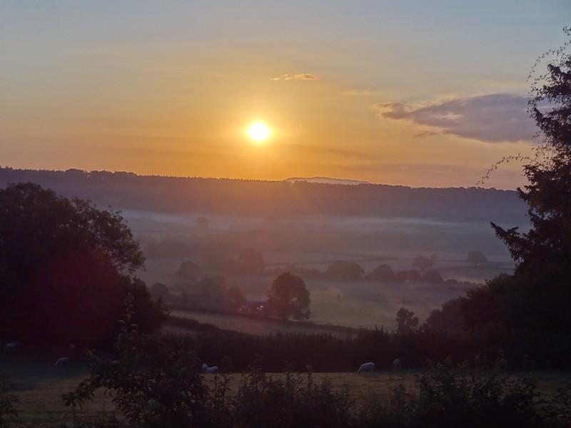Sunrise over Grey Valley