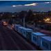 Passing at dusk