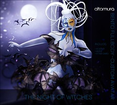 Altamura THE NIGHT OF WITCHES Bento FullBody Custom Avatar
