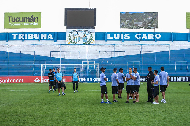 Reconhecimento Estádio José Fierro em Tucumán 17/09/18