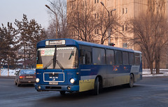 Almaty city bus: MAN SÜ240 # X140SFM
