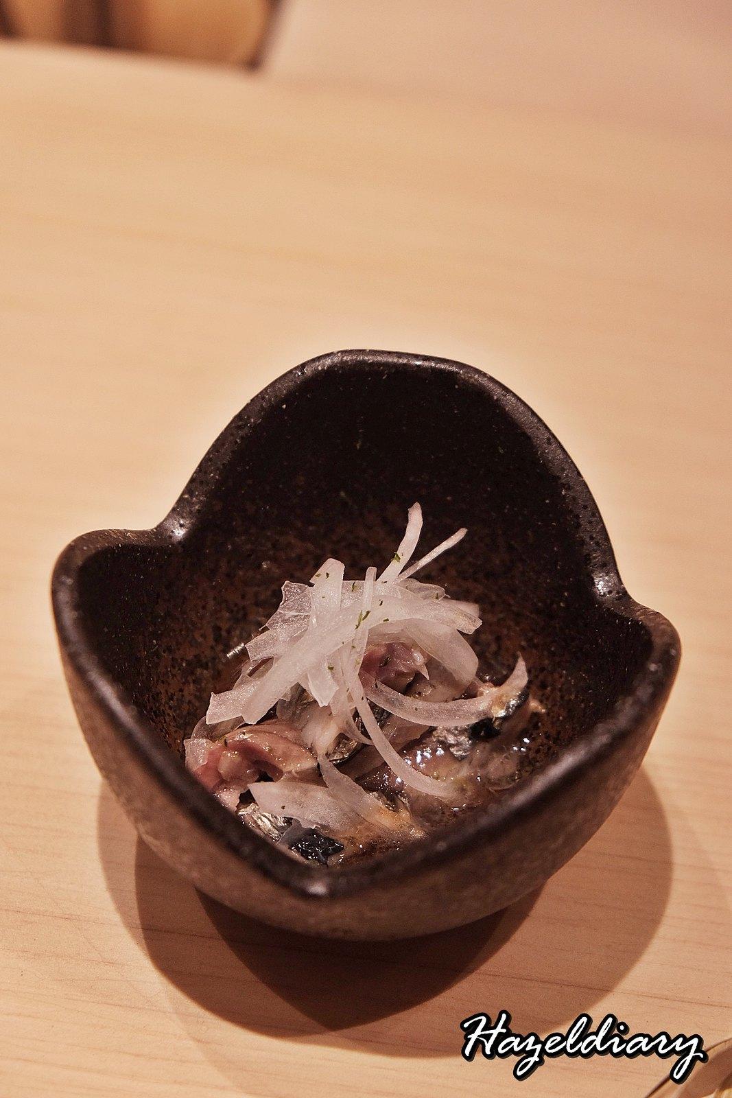 Sushi Chiharu by Tamaya Dining-Edomae Sushi-Sardine