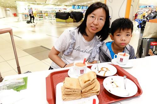 樟宜機場亞坤早餐