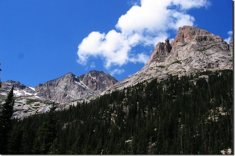 McHenry's Peak(L) & Arrowhead(R) 5