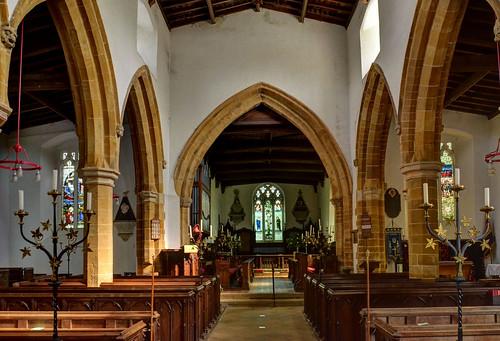Guilsborough Church, Northants - interior (Explored)