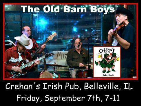 The Old Barn Boys 9-7-18