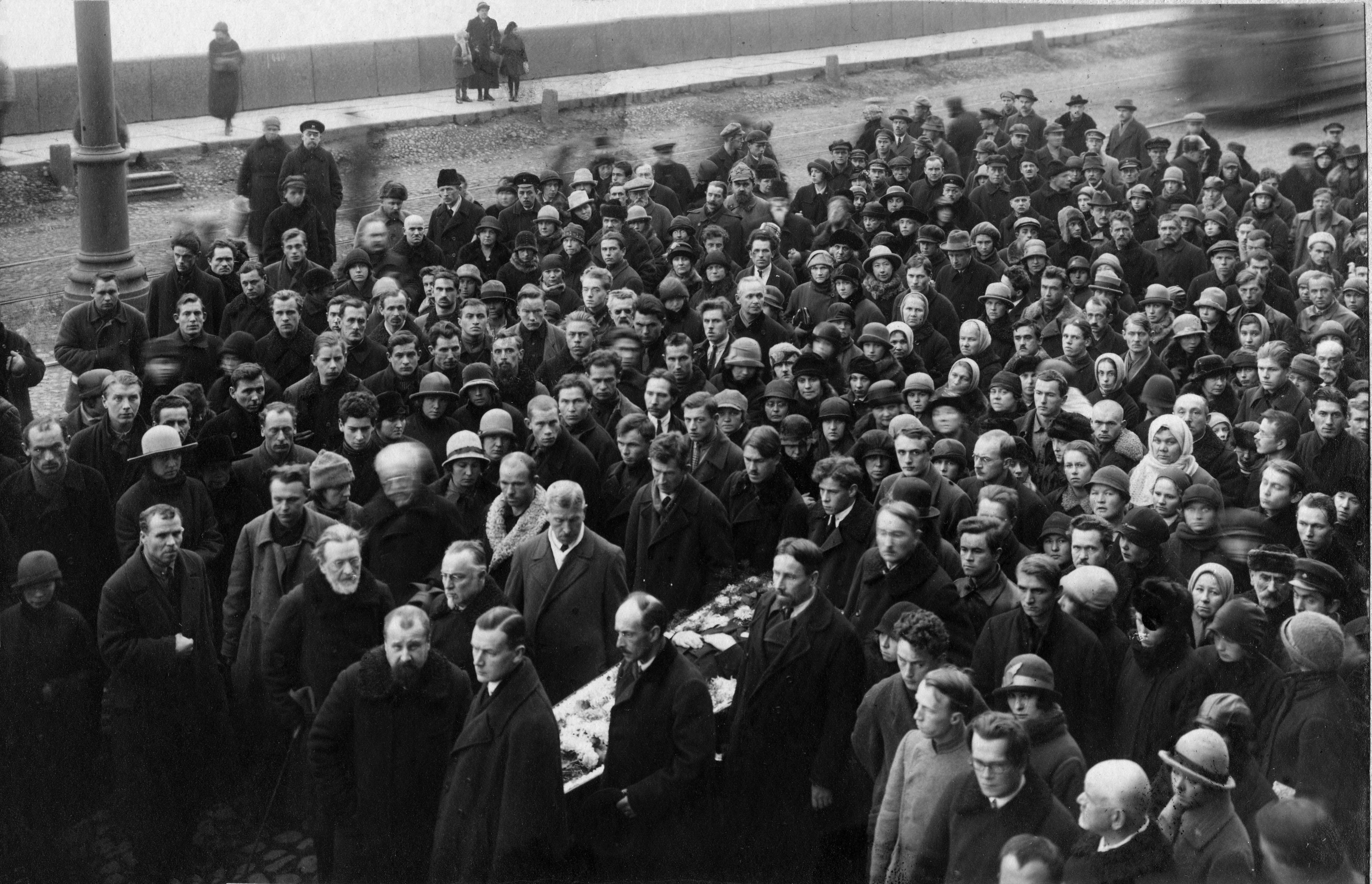 Похороны Георгия Георгиевича Якобсона