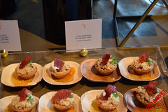 Strawberry Rhubarb Tart at the 70th Emmys Governors Ball Press Preview - DSC_0011
