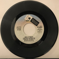 ARETHA FRANKLIN:GET IT RIGHT(RECORD SIDE-A)