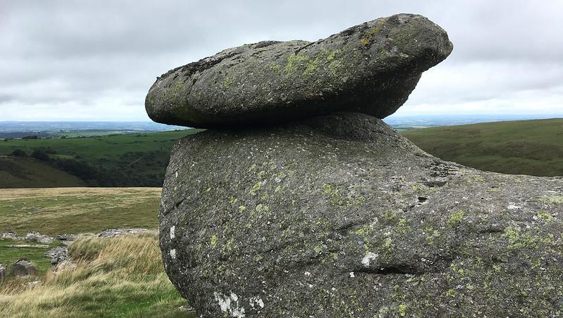 Shelstone Tor logan stone