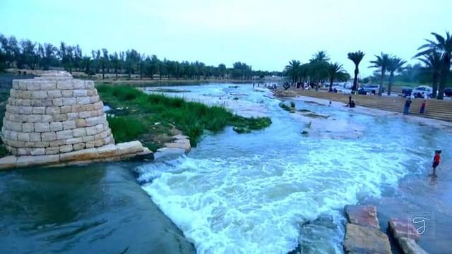 1323 A Visit to the Lake Kharrarah Park and Hifna Waterfall 01