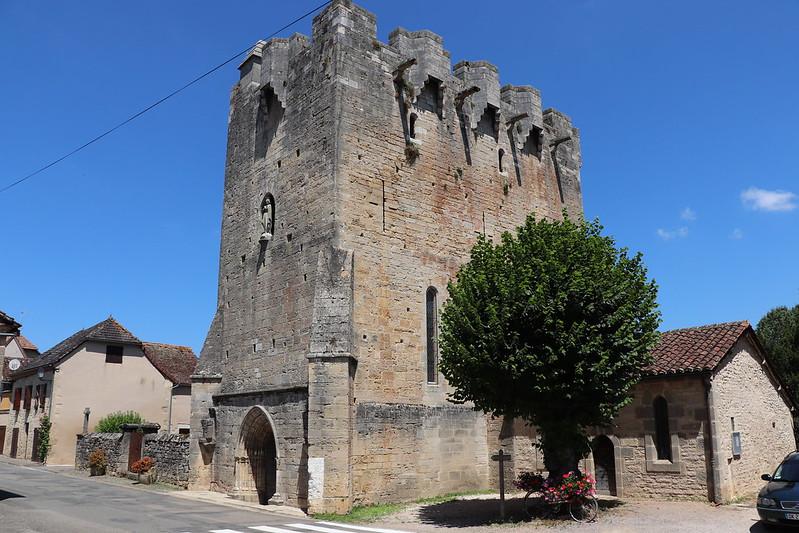 [242-002] Rudelle - Église Saint-Martial (bourg)