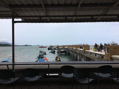 9月16日 今日のサムイ島 荒れてしまって・・・