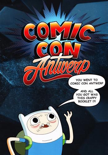 Comic Con Antwerp program