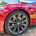 Tesla front corner