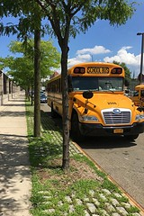 Happy First Day Of School Everyone! Here is a 2018 Bluebird Vision, All American School Bus Corp. Bus#2508