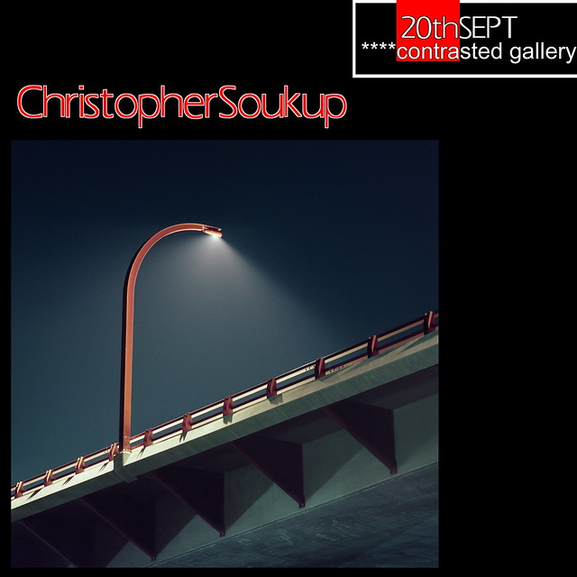 Exhibition Announcement Christopher Soukup at ****Contrasted Gallery