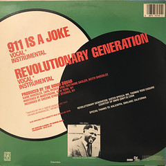 PUBLIC ENEMY:911 IS A JOKE(JACKET B)
