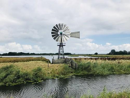 Amerikaanse windmolen (windmotor) Westersanning