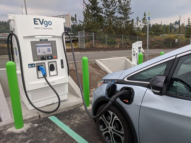 Solo Mt. St. Helens Ride: Fast Charging the Bolt 2