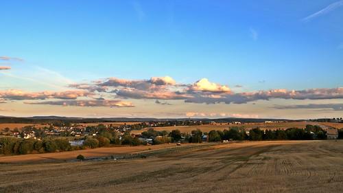 Blick von Pfaffengrün ins Vogtland