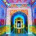 Jehangir's tomb entrance