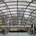 Paris : entrée du métro Saint-Lazare
