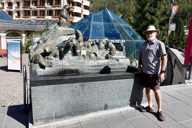 Marmot sculpture
